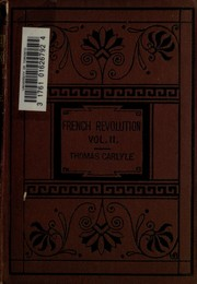 Cover of: The  French Revolution: a history