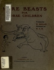 Cover of: The bad child's book of beasts