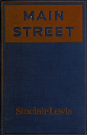 Cover of: Main Street: the story of Carol Kennicott