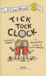 Cover of: Tick tock clock