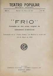 Cover of: Frío