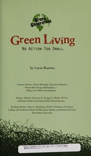 Cover of: Green living | Lucia Raatma