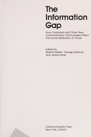 Cover of: The Information gap