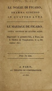 Cover of: Nozze di Figaro