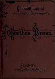 Cover of: Prose