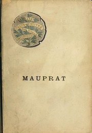 Cover of: Mauprat