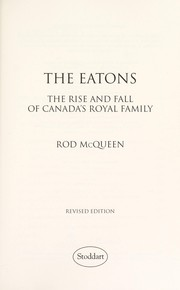Cover of: The Eatons | Rod McQueen