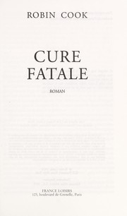 Cover of: Cure fatale