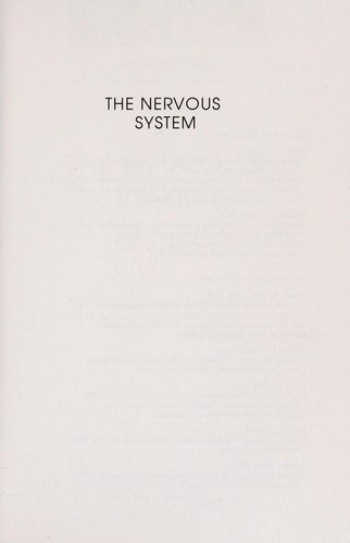 The nervous system by Edward Edelson
