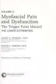 Cover of: Myofascial pain and dysfunction | Janet G. Travell