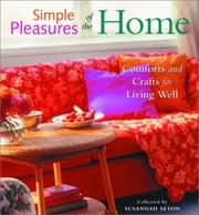 Cover of: Simple Pleasures of the Home | Susannah Seton