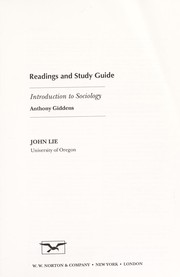 Cover of: Readings and study guide | John Lie