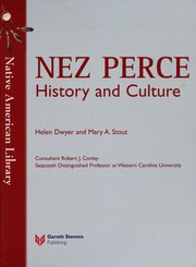 Cover of: Nez Perce history and culture