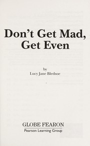 Cover of: Don't get mad get even