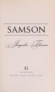 Cover of: Samson