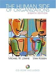 The Human Side of Organizations (8th Edition) by Michael Drafke, Stan Kossen