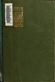 Cover of: The seven lamps of architecture