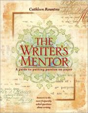 Cover of: The writer's mentor