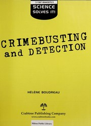 Cover of: Crimebusting and detection | Linda Askomitis