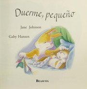 Cover of: Duerme, pequeno