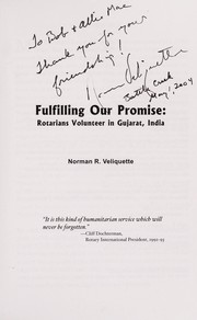 Cover of: Fulfilling our promise | Norman Veliquette