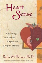 Cover of: Heart Sense | Paula M., Ph.D. Reeves