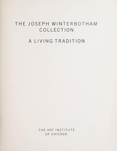 The Joseph Winterbotham Collection by Art Institute of Chicago.