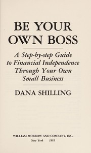 Cover of: Be your own boss