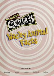 Cover of: Wacky animal facts | Martin Kratt