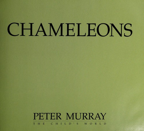Chameleons by Murray, Peter