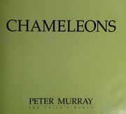 Cover of: Chameleons | Murray, Peter