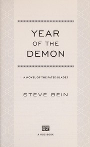 Cover of: Year of the demon