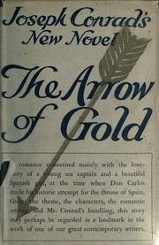 Cover of: The arrow of gold: a story between two notes