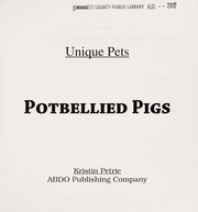 Cover of: Potbellied pigs | Kristin Petrie
