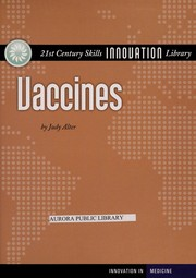 Cover of: Vaccines | Judith Alter