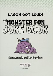 Cover of: The monster fun joke book