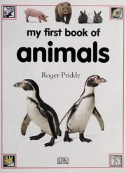 Cover of: My first book of animals | Roger Priddy