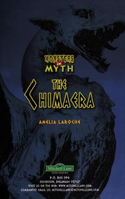 Cover of: The Chimaera | Amelia LaRoche