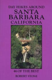Cover of: Day Hikes Around Santa Barbara, California | Robert Stone