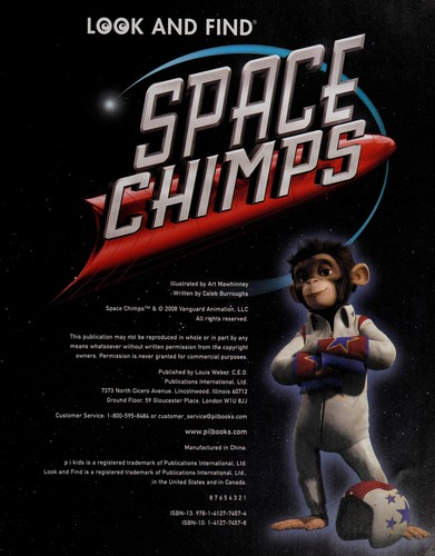 Space chimps by Caleb Burroughs
