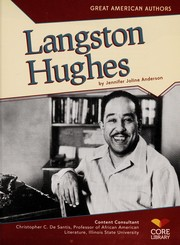 Cover of: Langston Hughes | Jennifer Joline Anderson