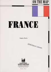 Cover of: France | Daphne Butler
