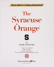 Cover of: The Syracuse Orange | Stewart, Mark
