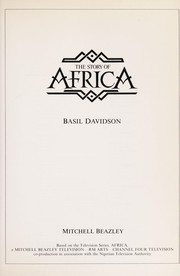 Cover of: The story of Africa