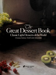 Cover of: The great dessert book
