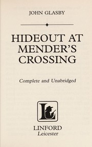 Cover of: Hideout at Mender