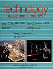 Cover of: Technology today and tomorrow