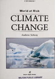 Cover of: Climate change | Andrew Solway