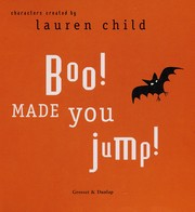 Cover of: Boo! made you jump! | Lauren Child