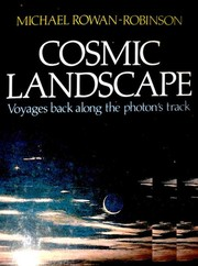 Cover of: Cosmic landscape: voyages back along the photon's track